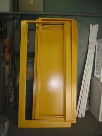 сколько стоит покрасить дверь металлическую порошковым напылением